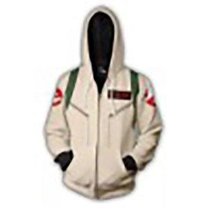 Ghostbusters' Cosplay 3D printed fashion zipper Hoodie