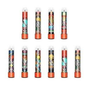 Mask-King High Pro Max Einweg-Vape E-Zigaretten 1500puffs 4.5ml-Patrone bereit, transparentes Mundstück RGB-Licht gegen Puff Bang XXL zu verwenden