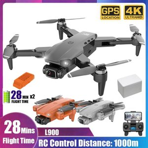 L900 GPS Drone 4K With Camera Anti-Shake Foldable RC Quadcopter Brushless Motor RC Quadcopter Aircraft Quadrocopter Toys Kid