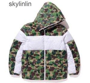 Hiver Mens Design Jacket Mode Camouflage Manteau avec motif Mens Tendance lettre Imprimer Streetwear S-3XL Luxurys Designers en vente