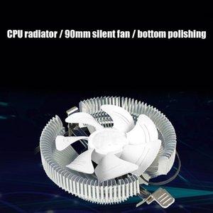 Fans & Coolings CPU Cooler 90mm Cooling Fan Heatsink Silent 3Pin 12V 2200RPM PC Case Radiator