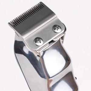 Senior Metal Hair Clipper Electric Razor Men Steel Head Shaver Hair Trimmer black color EU UK US Plug