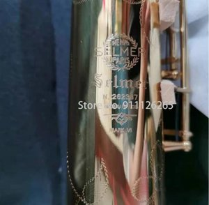 Model Mark VI B Flat Soprano Saxophone Gold Lacquer Sax with Woodwind Accessories
