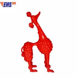 SAMPLE HOUSE ABSTRACTION SIMULATION PET DOG POODLE RESIN CRAFTWORK FIGURINES FASHION COFFEE SHOP DECORATION ACCESSORIES X1490