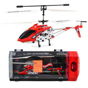 3.5-way Alloy Helicopter with Light Charging and Fall Resistant Children's Model Toy Remote Control Aircraft