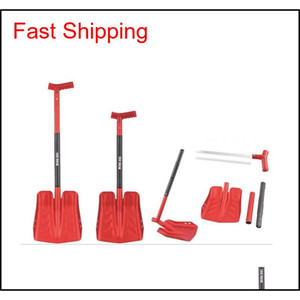 Large Size Outdoor Camping Shovel Survival Shovel Upscale Outdoor Folding Survival Camp Spade Too qylymj toys2010