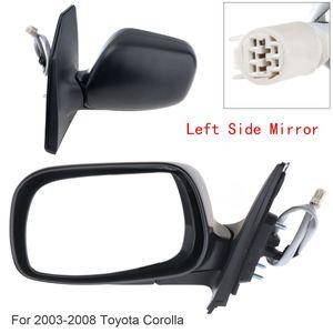 Katlanmayan Sol / Sağ Yan Ayna Sol / Sağ El RH Aynası 2003-2008 Toyota Corolla CE / LE / S / SPORT / XRS Sedan 4-Kapı