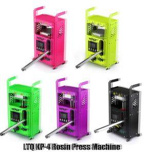 100% Original KP-4 Rosin Press Machine By LTQ Vapor KP4 Wax DAB Squeezer Temperature Adjustable Extracting Tool Kit Presser With 4 Tons New