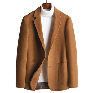Winter New High Arrival Quality 55.2% Wool Thicked Casual Coat Men's Winter Warm Coat Men Jackets