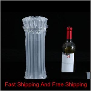 100 adet Hava Dunnage Çanta Hava Dolu Koruyucu Şarap Şişesi Wrap Şişme Hava Cushi Qylxop HotClipper