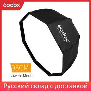 Godox SB-UE 95cm 37in Portable Octagonal Umbrella Softbox with Bowens Mount for Godox Studio Flash DE300 DE400 SK300 SK400