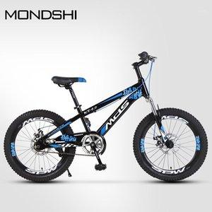 자전거 Mondshi20 인치 마운틴 자전거 싱글 스피드 더블 디스크 브레이크 흡수 전면 포크 1