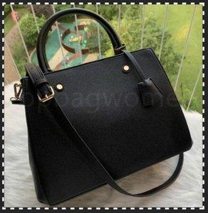 Designer di lussurys borse borse borse Montignne Borsa da donna Tote Brand Lettera Embossing Genuine Pelle Borse a spalla in pelle Borsa a tracolla Satchel N41056