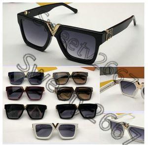 Роскошные объективные солнцезащитные очки качества мужчин с модами анти-UV400 старинные популярные солнцезащитные очки вершины для мужского миллионера полные очки