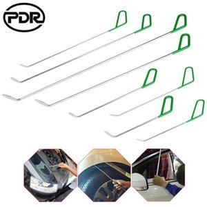 Professional Hand Tool Sets PDR 8pcs set Rod Paintless Dent Removal Car Body Puller Push Tail Hail Repair Kit Hooks Crowbar