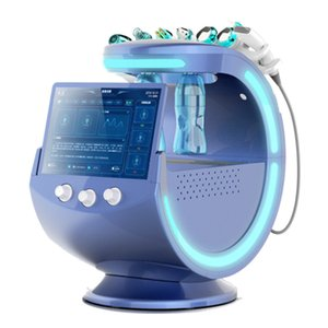 EE.UU. Warehouse Ice Blue Magic Mirror, Analizador de Piel, Ascensor facial, Micro Muela Spray Oxígeno, Máquina de limpieza profunda de piel de agua DHL