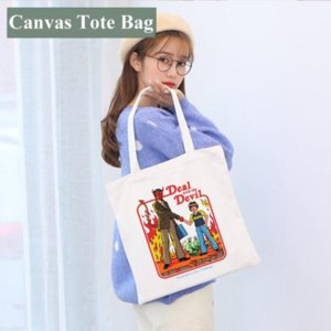 Blank Sublimation Handbag 35*40cm White DIY Canvas Tote Bag Classic Storage Bags Outdoor Portable Backpack 496