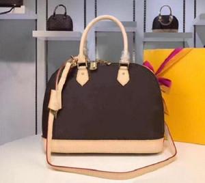 Высочайшее качество ALMA BB модные женские сумки на ремне цепь цепь мешок мешок кожаные сумки раковины кошелек кошелек дамы косметический покрещивание сумки Tote