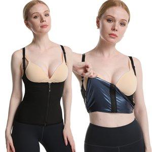Bruciore grasso e pancia che contraggono fitness per il sudore della tracolla Violentemente Gilet che esegue Yoga Violentemente sudore Suit Sport Corset Sweat Sweat