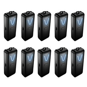Air Purifiers 10X Personal Wearable Purifier Necklace Mini Portable Freshener Ionizer Negative Ion Generator Black