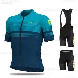 RCC Raudax 2021 Pro Команда Одежда для велосипеда Нагрудник Шорты Мужчины Велосипед Джерси набор ROPA Ciclismo