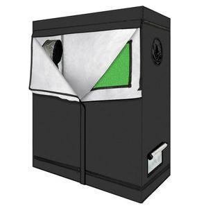 Внутренний рост растения растут палатки Высококачественные палатки TENT Trankhouse Workbox Гидропонное оборудование Оксфордская ткань 120x60x150 с окном Бесплатная доставка