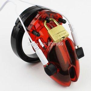 플라스틱 CB6000 남성 장치 Expare Electro Shock Cocke Cage 장난감 남성 순결 벨트 성인 섹스 게임 21S