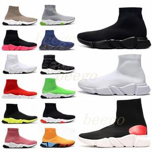 # 2021 # Diseñador Balenciaga balenciga Balanciaga de hombres de la velocidad de la velocidad de la velocidad de las botas de los calcetines de zapatos casuales zapatillas #35-45#