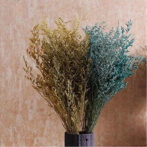 Natural Dry Flower Home Furnishing Decoration Flowers Art Hay Dried Branches Grass Love Babysbreath Valentine Day Gifts YHM797