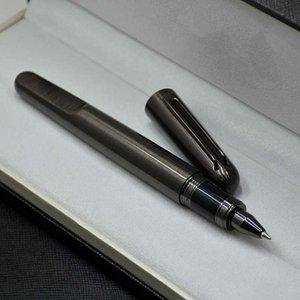 stylo haut mt magnétique top édition limitée m série de luxe gris et argent métal stylo papeterie de papeterie rédiger des fournitures de bureau