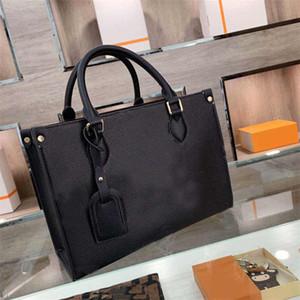 Bolsas de compras Sacos de compras das mulheres novos sacos de chegada grande Capacidade de mão única bolsa de ombro impressão carta de impressão moda bolsa de moda mulheres bolsa