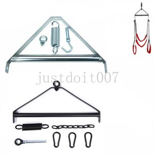 Sex Furniture Door Swing Steel Triangle Strong Tripod Love Hook with Spring #56