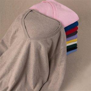 Gaberly Soft Cashmere Sleeers Elastic e Pullovers para Mulheres Outono Camisola de Inverno V-Neck Feminino Jumper Malha Tops LJ201017