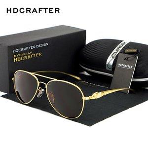 HDCrafter Brand Sunglasses per le donne telaio metallo vintage grande occhiali da sole polarizzati specchio signore guida occhiali all'ingrosso x0125