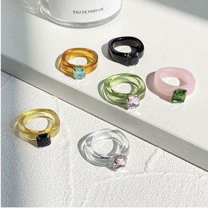 10pcs lot blackpink Jennie  bts v suga jimin the same style ring, ring size 7