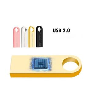 2021 New USB Flash Drive 64GB 32GB 128GB Pen Drive 128 64 32 GB Pendrive Waterproof Metal Silver U Disk Memory Memoria USB Stick