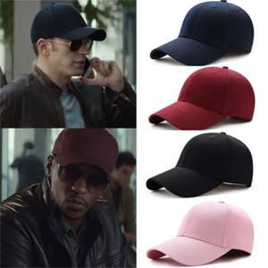 POP Men Women Baseball Cap Blank Plain Solid Snapback Golf ball Hip-Hop Hat T200409