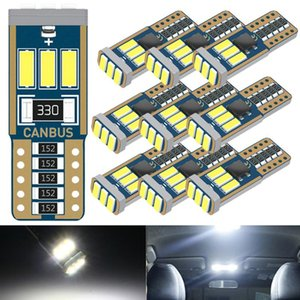 10x T10 W5W LED Leds Auto 12V LED Interior Car Lights For Duster Megane 2 3 Logan Clio Fluence Captur Sandero Laguna