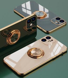 Cubierta de silicona para iPhone 12 Pro Mini MAX X XS 7 8 PLUS 11 XR Funda para Huawei P30 P40 MATE Casas de teléfono de lujo