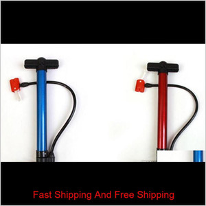 Portable Bike Bicycle Steel Pipe Pump Ball Tire Hand High Pressure Inflator Mountain Cycling Accessories Hand Air qylFKi garden2010
