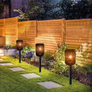 Lampade solari 2x decorativo LED luce lampada da giardino all'aperto lampada decorazione giardino batteria luce solare lanterna fuori luci natalizie