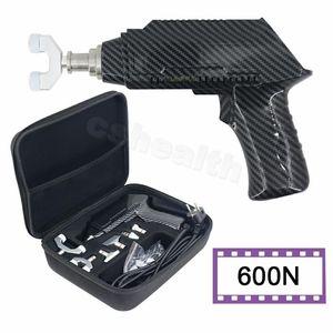 Electric Massagers 600N Back Stretcher Chiropractic Adjustment 6 Heads Neck Spine Massager Body Relaxation Massage Gun Manual Set