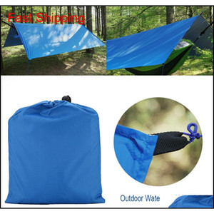 3 Colors Waterproof Camping Mat 3* Tent Cloth Multifunction Awning Tarps Picnic Mat Tarp Shelter Garden Building Shade C cor bdenet