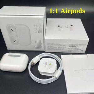 1pcs H1 earphones chip Gps Rename Air Ap pro Gen 2 3 Pods pop up window Bluetooth Headphones auto paring wireles Charging spaner