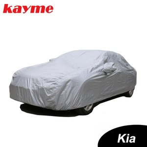 Kayme Full Car Covers Dustproof Outdoor Indoor UV Snow Resistant Sun Protection polyester Cover universal for Kia