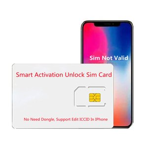 GN SIM Smart Activation Unlock Semi For PHONE 6S 7 8 X XS XR 11 12 IOS 15 Carriers Unlocking Card