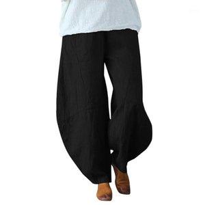 ISHOWTIENDA Cotton Linen men pant trouser Solid Wide Leg Harem Pants Men Hip Hop Pants Men's Joggers Male Clothes 9M31