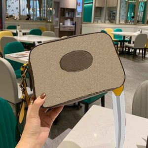 클래식 디자인 여행 스퀘어 가방 스트립 어깨 스트랩 크로스 바디 가방 고급 디자이너 여성 원 - 어깨 가방 패션 캐주얼 PVC 정품 가죽 고용량
