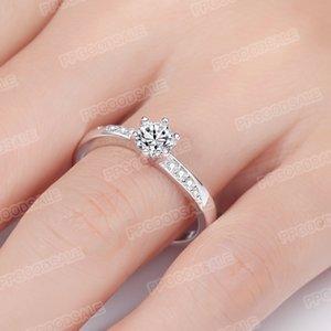 Korean version wedding ring women couple creative fashion proposal