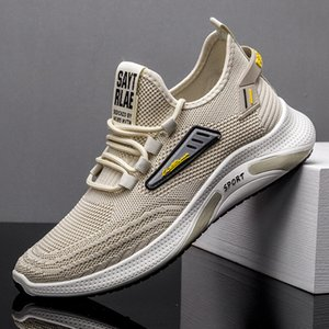 Chaussures Mens 2021 Été Nouveaux Chaussures Casual Soft Bas Soft Base Léger Chaussures Tissées Sports transfrontaliers Cross-Bordure Vente en gros Mens SHO